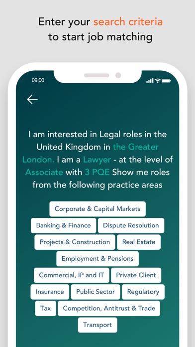 Route1 – legal jobs screenshot three
