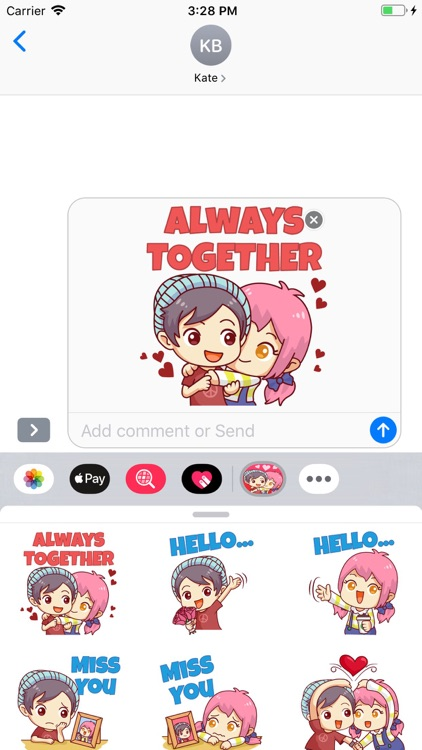 Story Love Stickers Pack screenshot-3