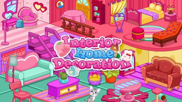 Interior home decoration game