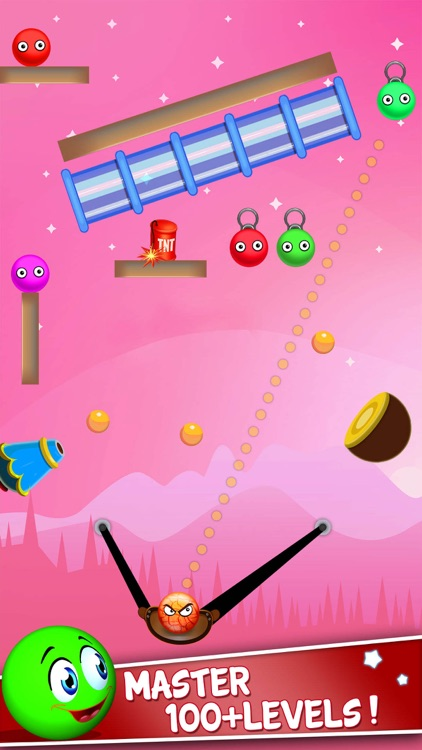 Bounce Ball Shooter: Slingshot screenshot-1