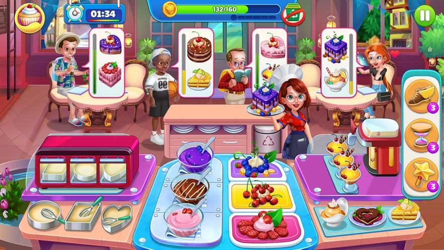 Cooking World - A Chef's Game App 截图