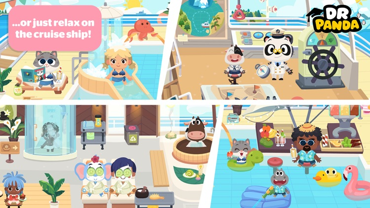 Dr. Panda Town: Vacation screenshot-5