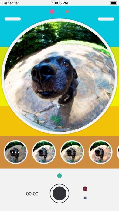 Screenshot for MoMoEye - Love FishEye Camera in United States App Store