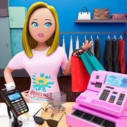Hypermarket Shopping Mall Girl
