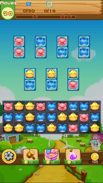 Animal Pop Fun - Match 3 Games screenshot-3