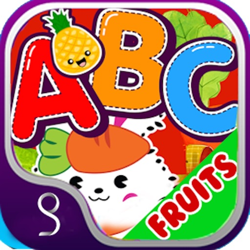 Fruit learning Flash Card kids