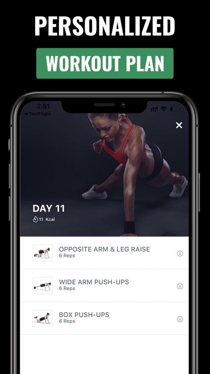 Push-Up Workout For Men& Women screenshot-3