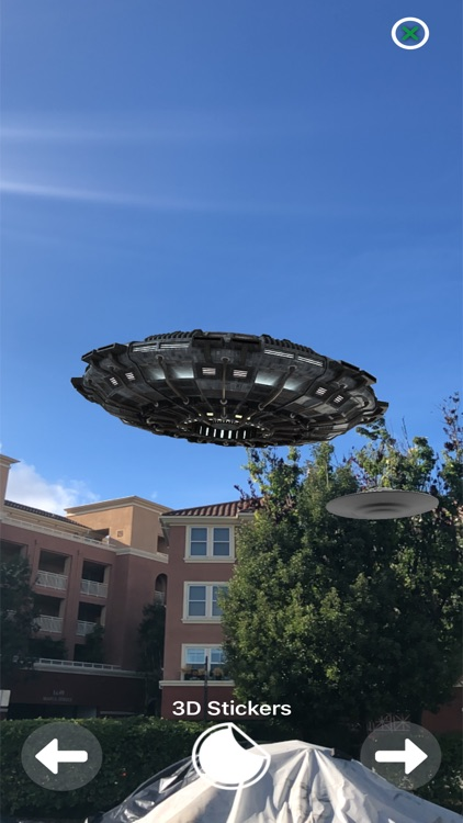 Augmented Reality UFO Stickers