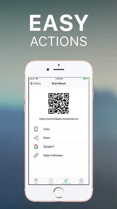 QR Code Reader: Barcode Scan screenshot two