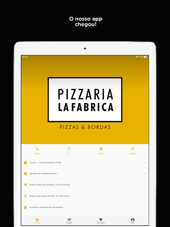Pizzaria La Fabrica screenshot 7