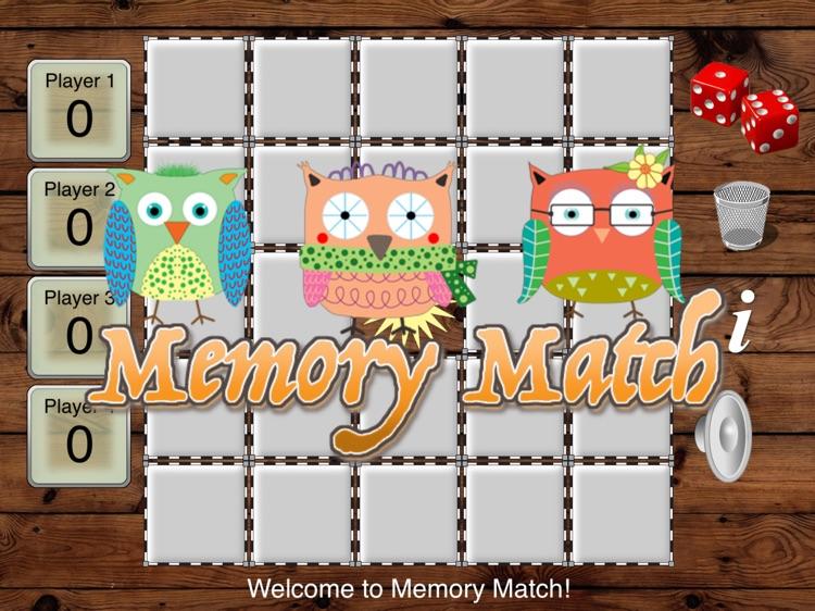 Owl Memory Match