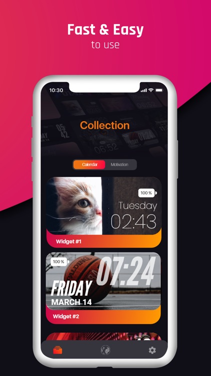 Widget World : Stylish Widgets screenshot-4