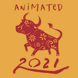 Year of the Ox 2021 Animated