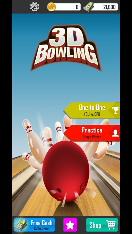Ultimate 3d Bowling Game