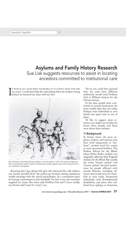 Internet Genealogy Magazine screenshot-4