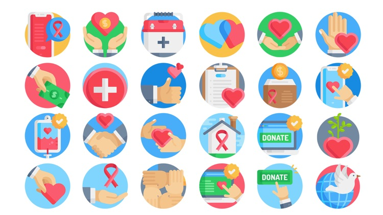 Charity Stickers.