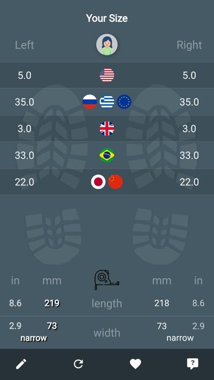 Shoe Size Meter Pro screenshot-3