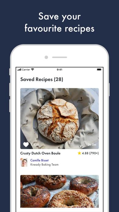 Kneady: Bread Recipes & BakingScreenshot of 5