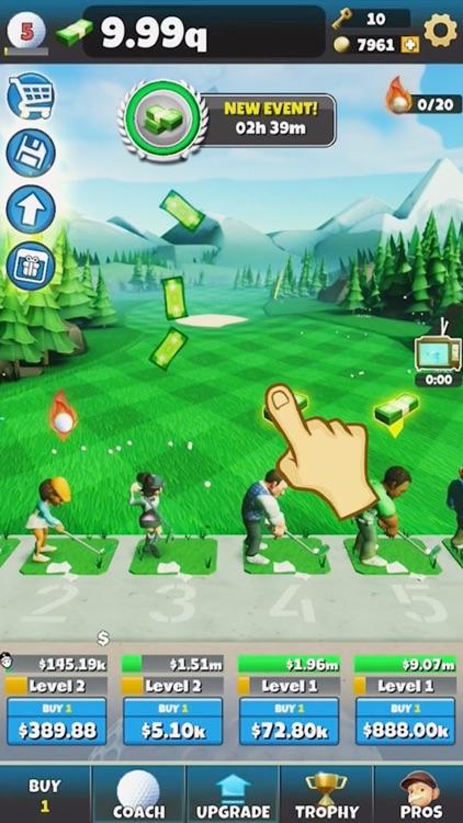 Idle Golf Tycoon screenshot-4