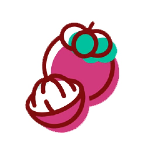 Colorful fruit Sticker