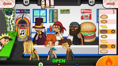 Screenshot for Papa's Burgeria To Go! in Indonesia App Store