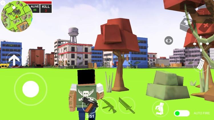 Pixels battle royale screenshot-6