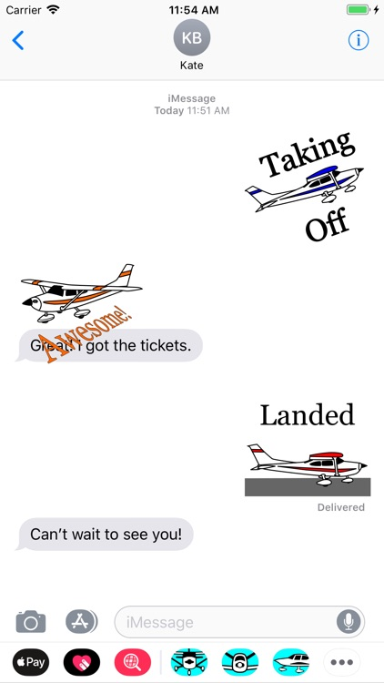 Cessna 182 Sticker App screenshot-0