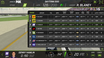 Screenshot for NASCAR RACEVIEW MOBILE in United States App Store