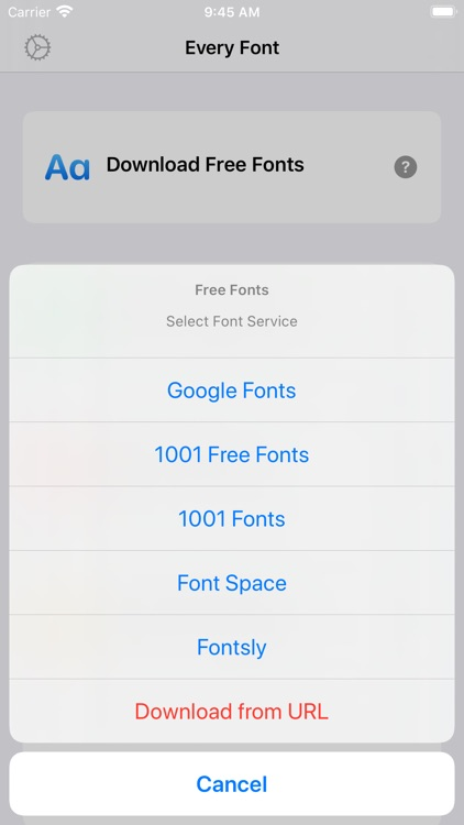 EveryFont : Install Any Font