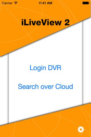 Screenshot of VPON iLiveView 2