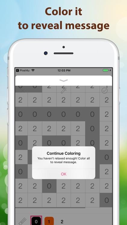 Pixel4u: Color By Number Game screenshot-6