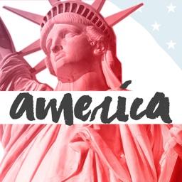 American Top Landmark Stickers