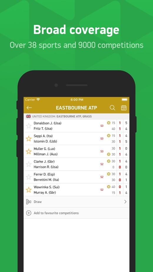 Flashscore Live Resultat版本记录 Ios App版本更新记录