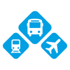 INFOBUS: Bus, train, flight