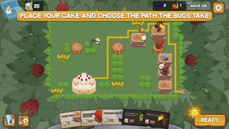Defend the Cake Tower Defense screenshot-0