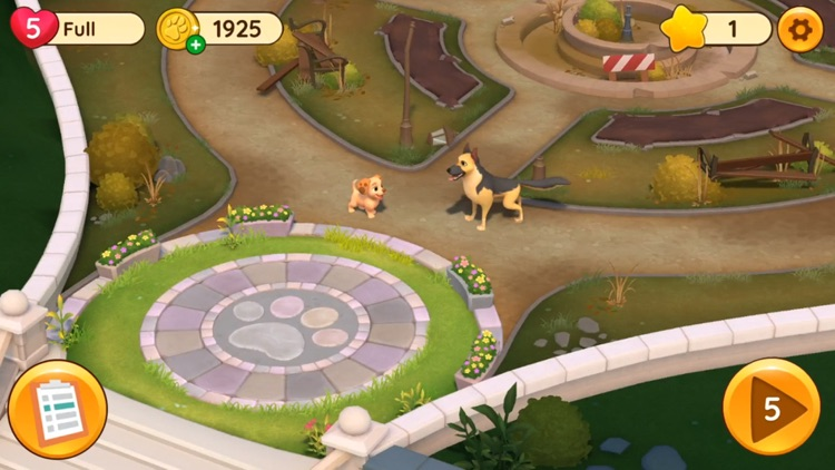 Dogs Home: Design with Match-3 screenshot-4