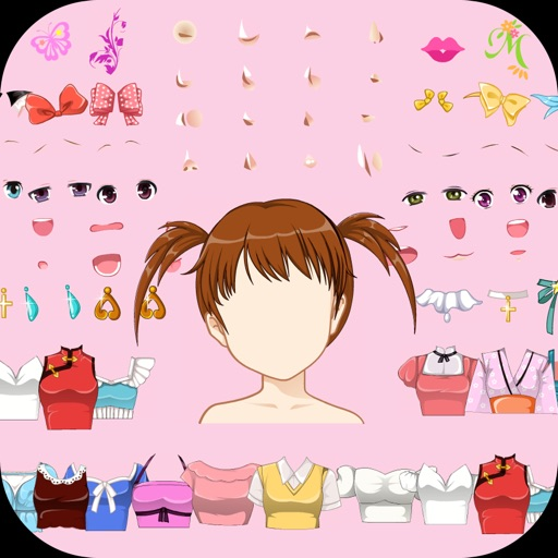 Girls Anime Avatar Creator