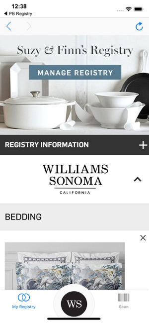 Williams Sonoma Gift Registry On The App Store