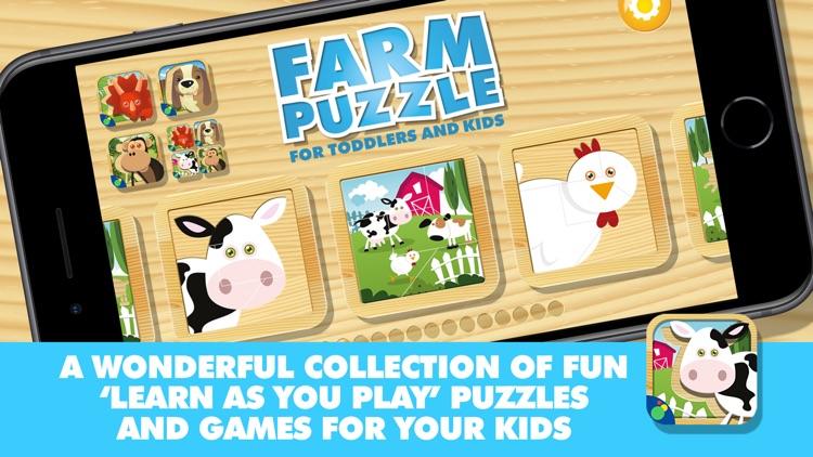 Farm Animal Puzzles screenshot-4