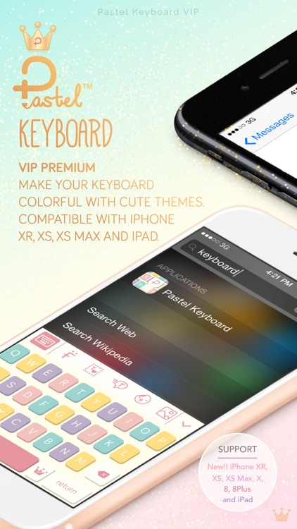 Pastel Keyboard -  VIP Premium screenshot-0