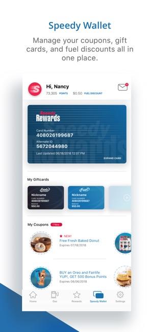 Speedway Fuel & Speedy Rewards on the App Store