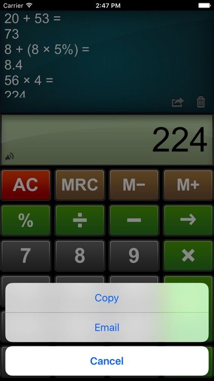 Calculator Easy HD screenshot-3