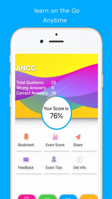 Screenshot for ANCC Exam Review in United States App Store