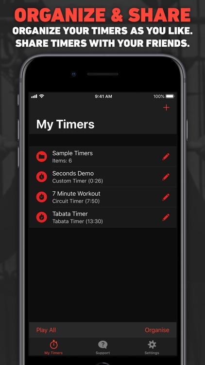Seconds Pro Interval Timer screenshot-5