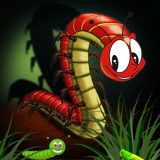 Amazing Cәntipәdә: Eat Insects
