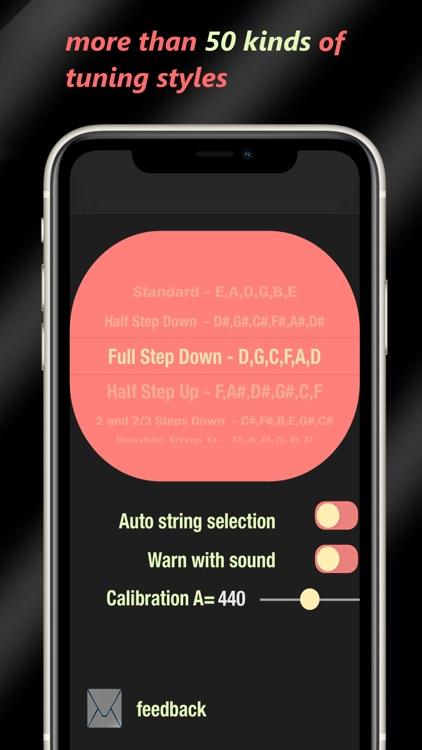 Guitar Tuner - Pro Accuracy screenshot-3