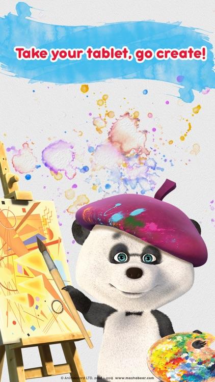 Masha and the Bear: Art Games screenshot-3