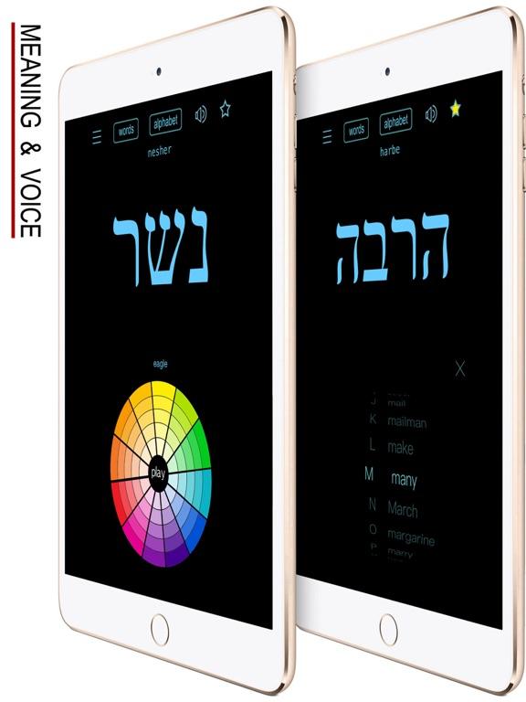 Hebrew Words & Writing screenshot 12