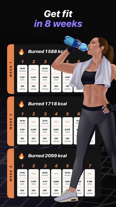 Run & Walk to lose weightのおすすめ画像2
