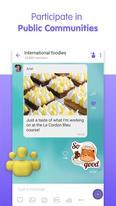 Viber Messenger: Text & Call для ПК